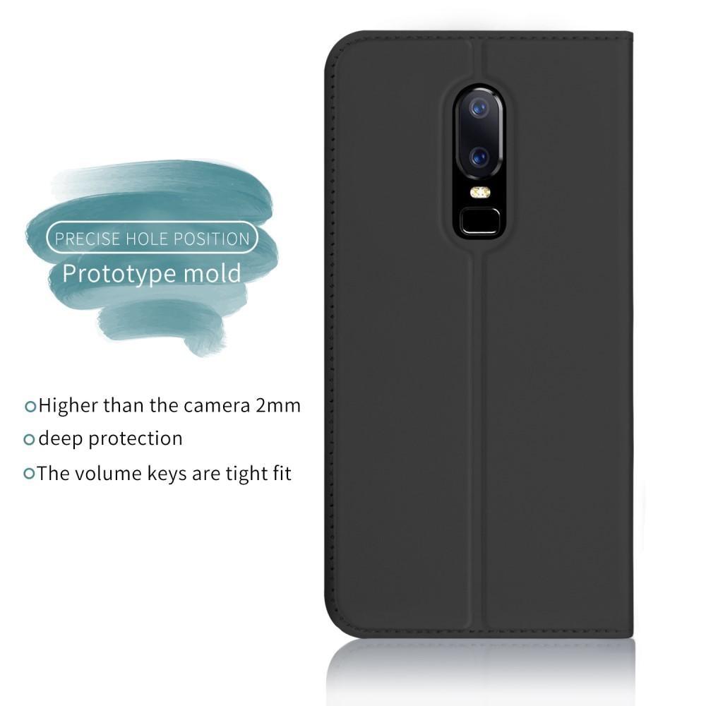 Slim Card Wallet OnePlus 6 svart