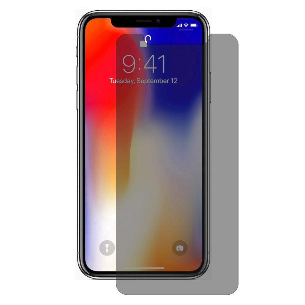 Privacy Herdet Glass Skjermbeskytter iPhone XS Max