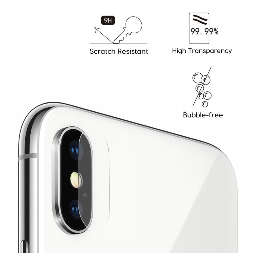 0.2mm Herdet Glass Linsebeskyttelse iPhone X/XS/XS Max