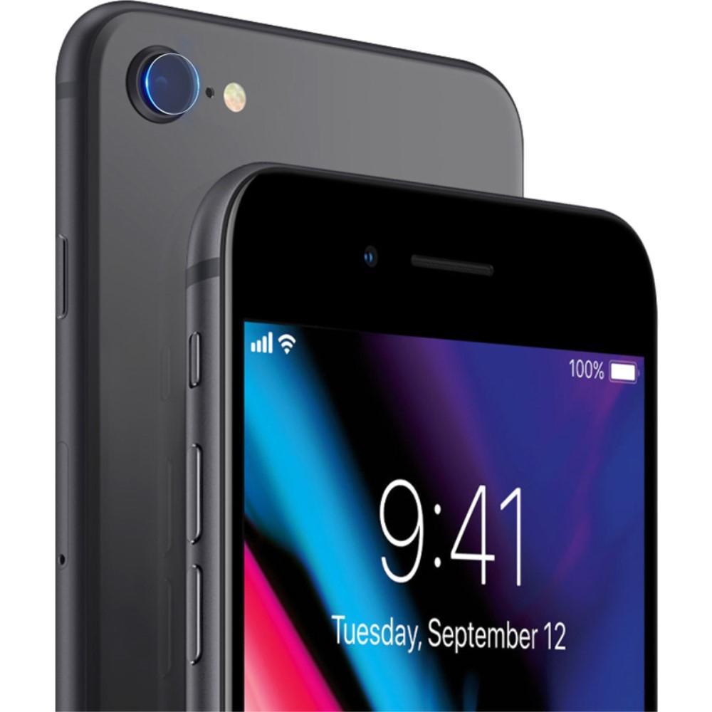 2-pack Herdet Glass Linsebeskyttelse iPhone 7/8/SE 2020