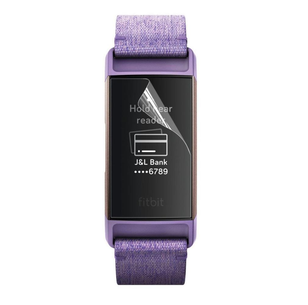 2-pack Skjermbeskytter Fitbit Charge 3/4