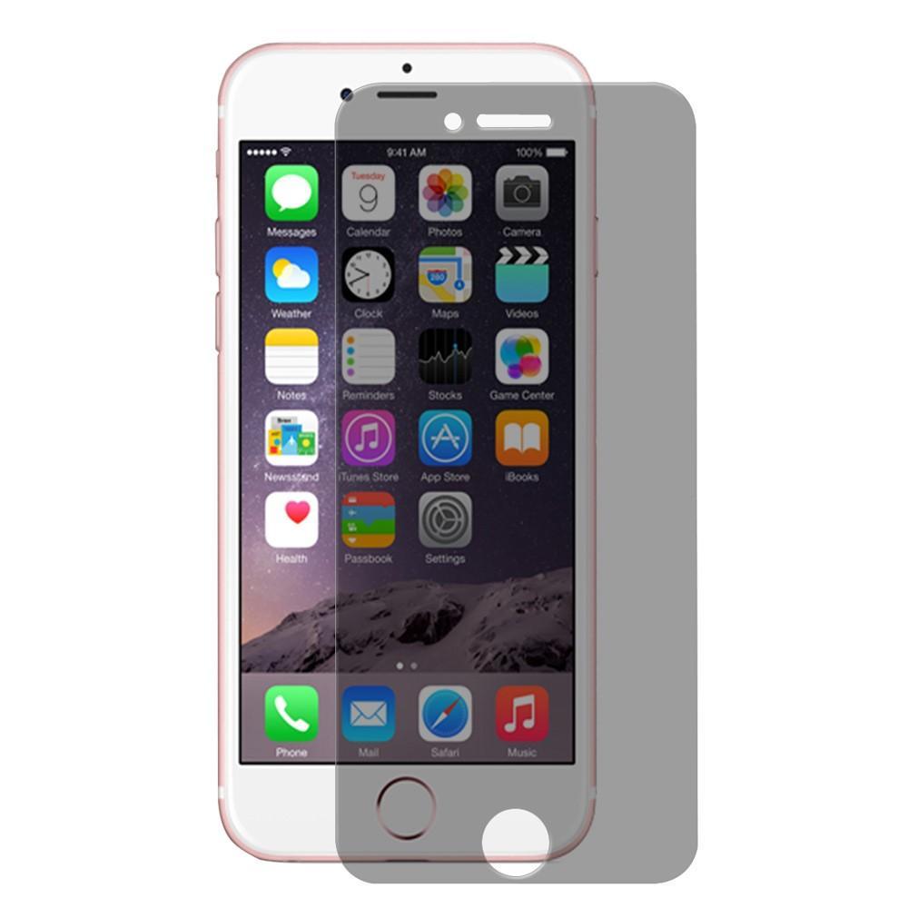 Privacy Herdet Glass Skjermbeskytter iPhone 6/6S/7/8