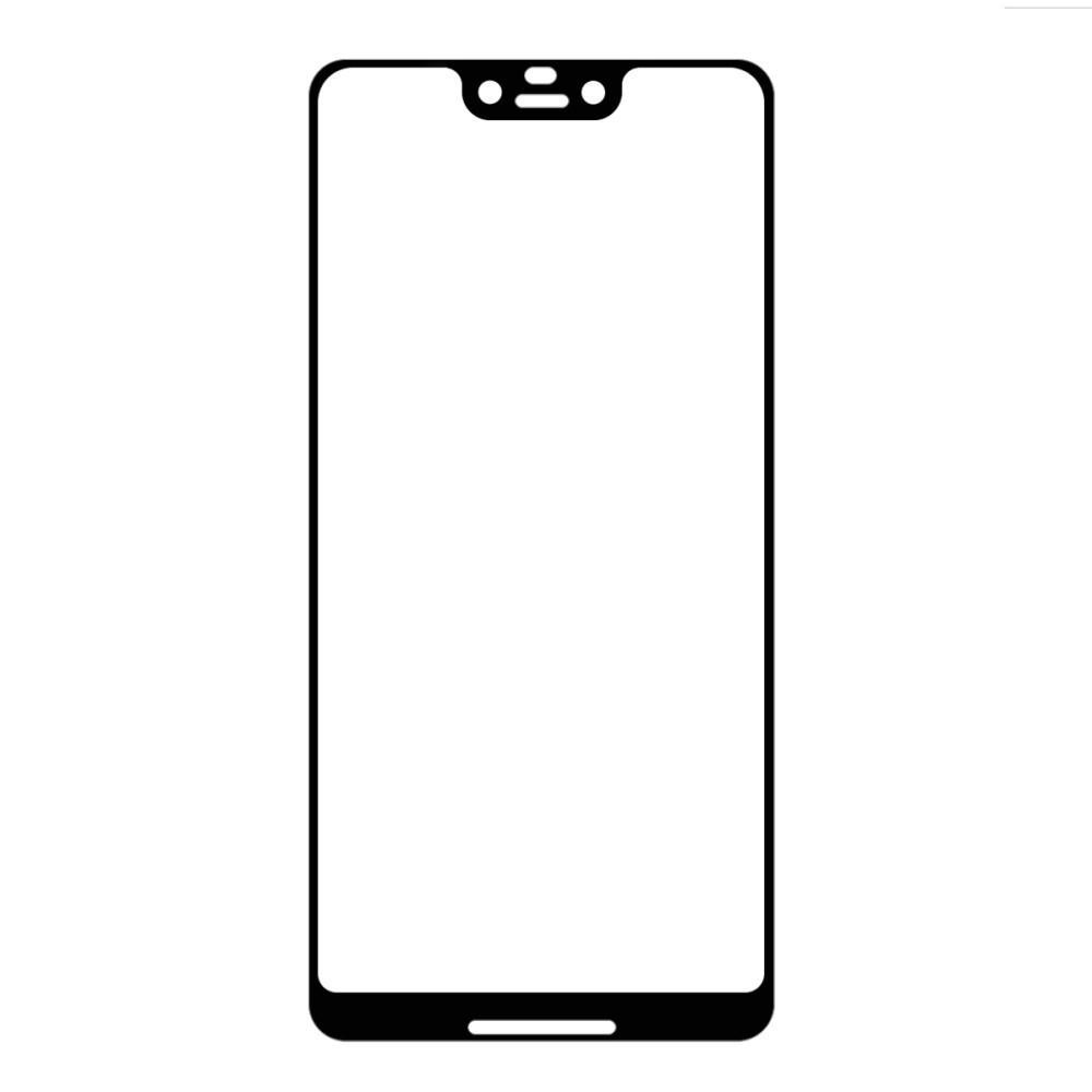 Full Glue Herdet Glass Google Pixel 3 XL Black