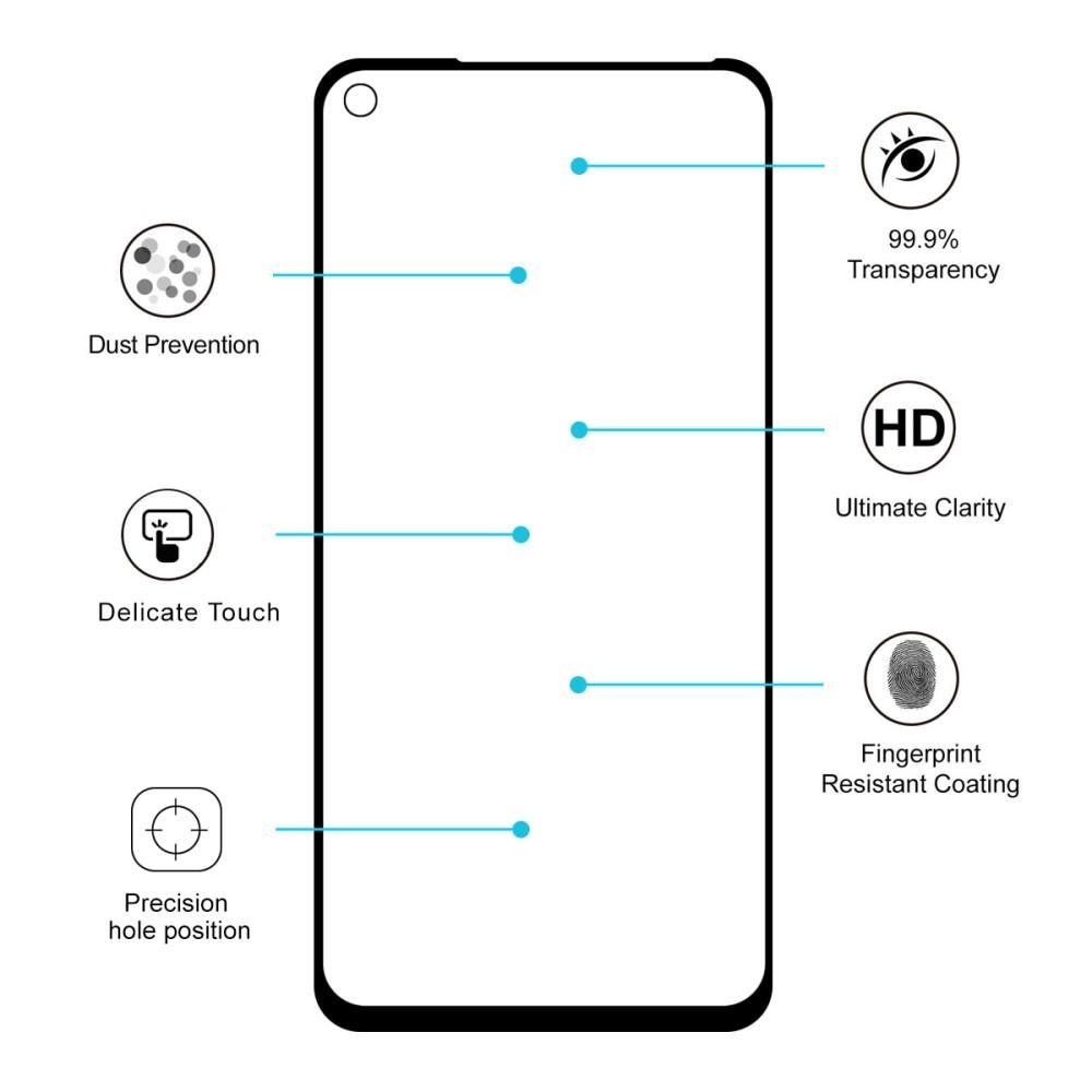 Full Glue Herdet Glass Huawei Mate 30 Lite