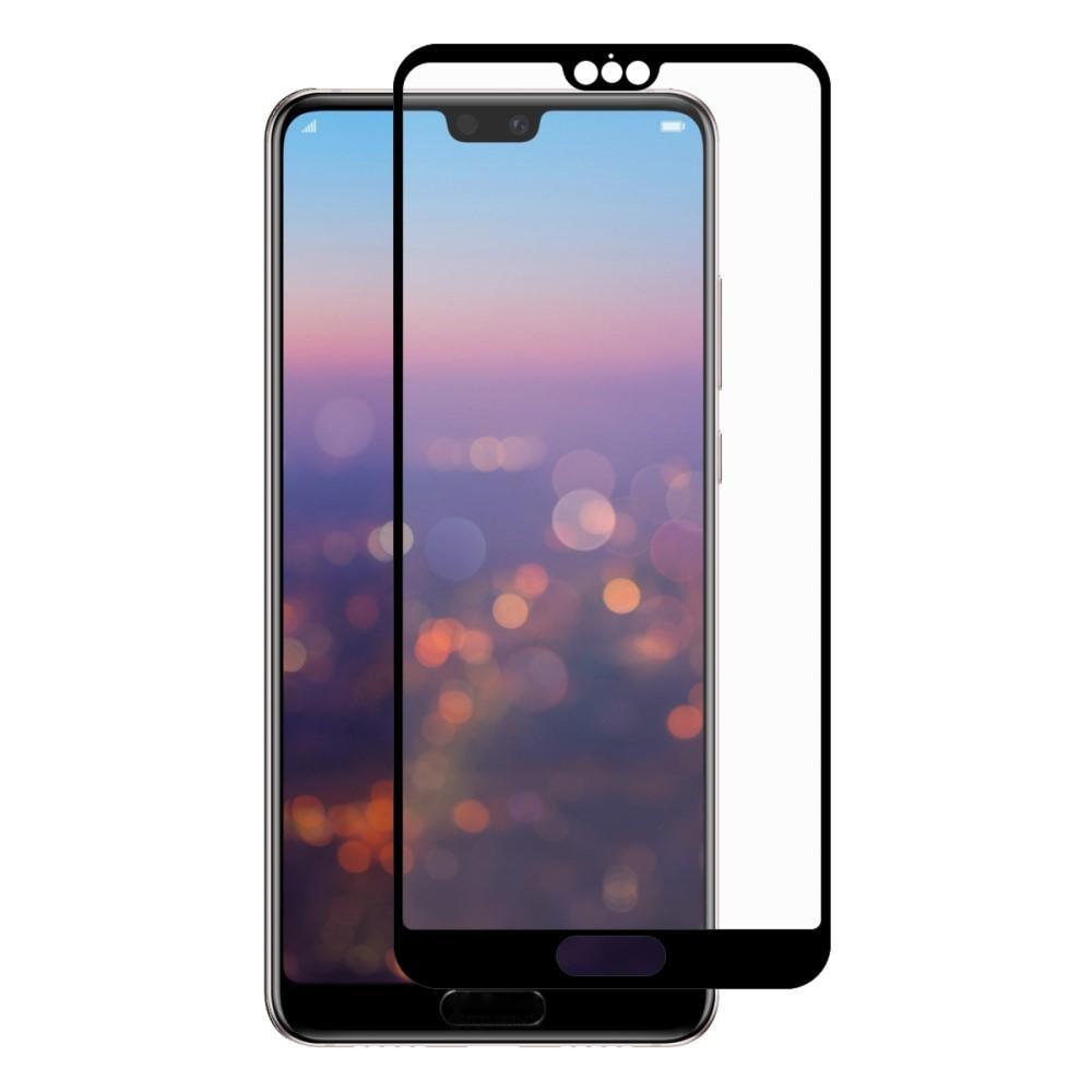Full Glue Herdet Glass Huawei P20 Pro Black