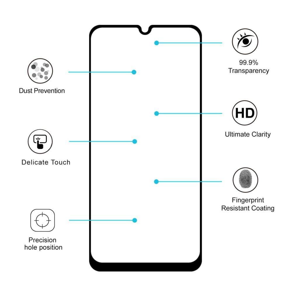 Full Glue Herdet Glass Samsung Galaxy A50 Black