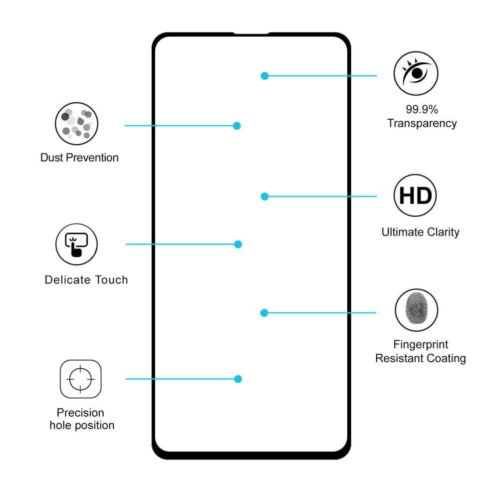 Full Glue Herdet Glass Xiaomi Mi 9T/9T Pro Black