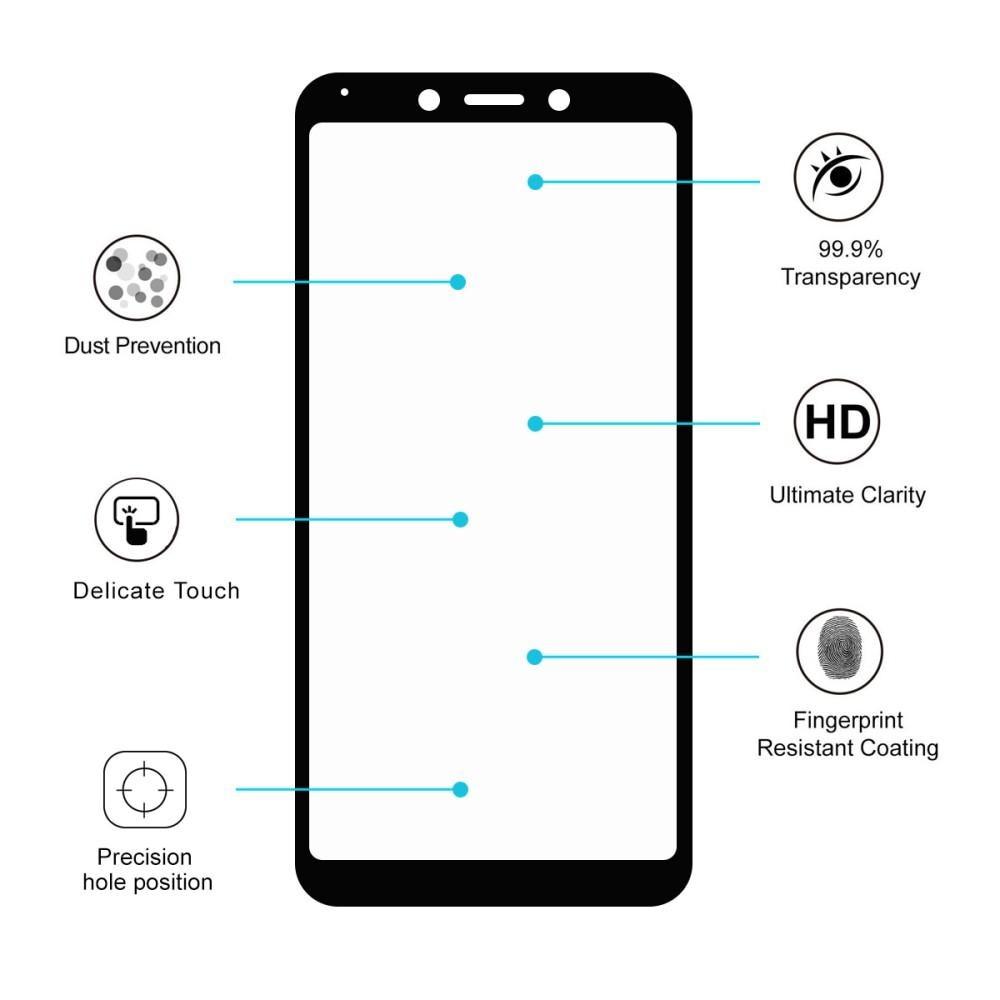 Full Glue Herdet Glass Xiaomi Redmi 6/6A Black