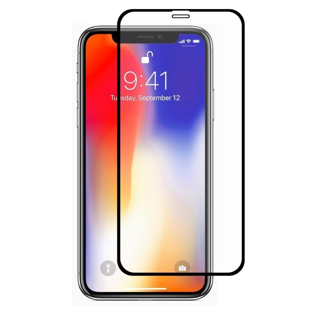 Full Glue Herdet Glass iPhone XR/11 Black
