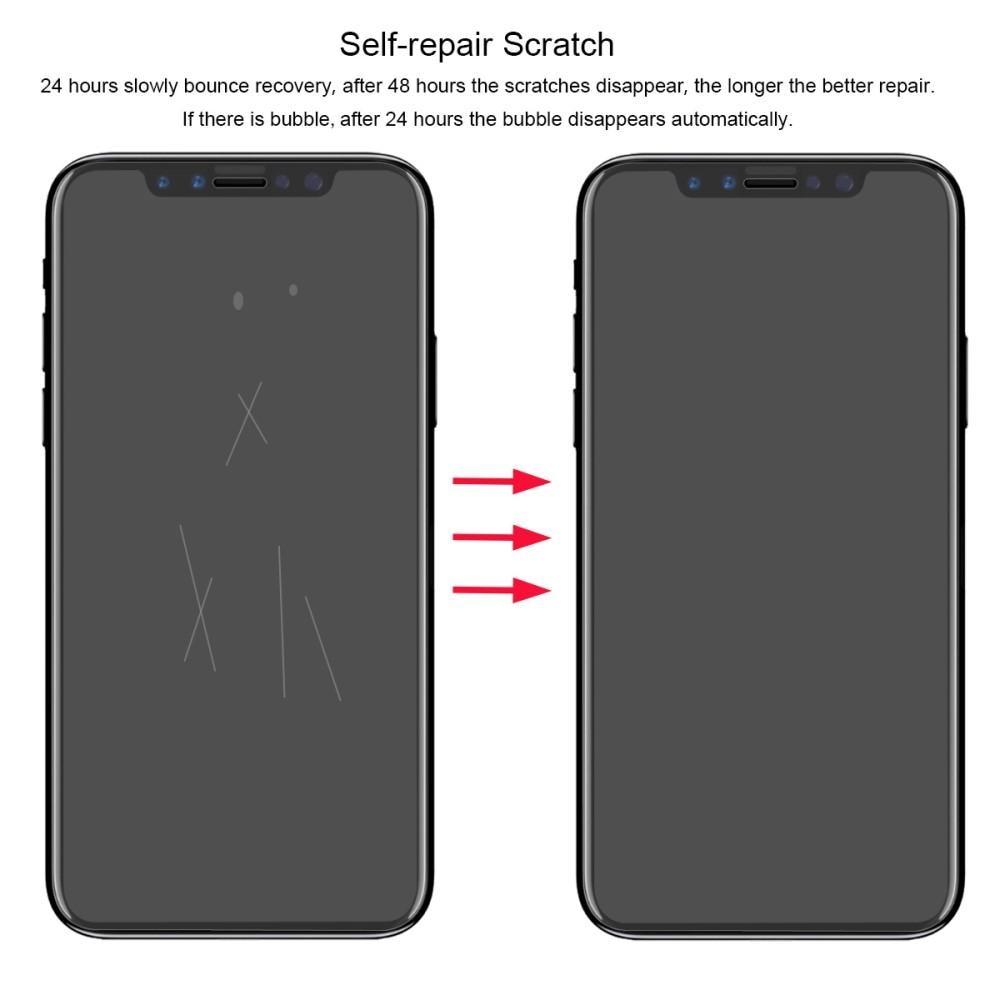 Heldekkende 0.1mm Skjermbeskytter iPhone XR