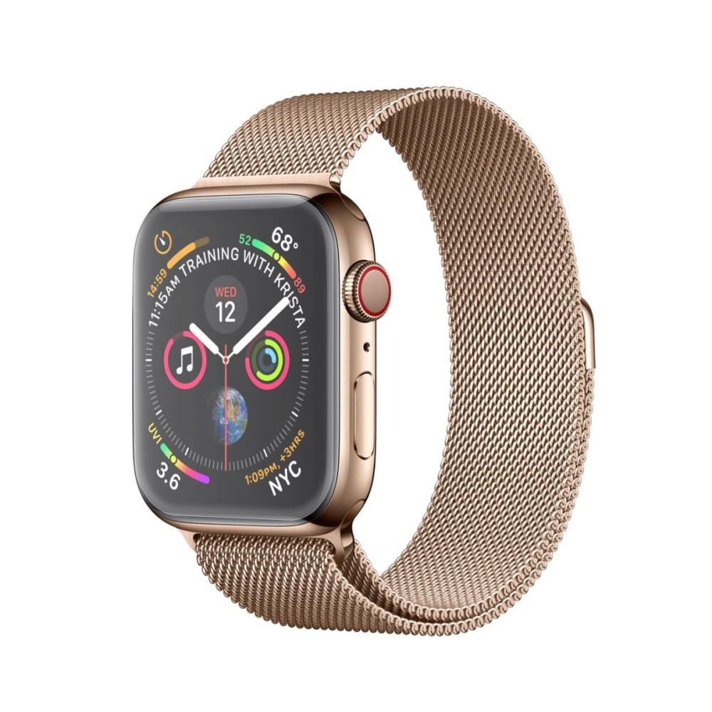 Heldekkende Curved Skjermbeskytter Apple Watch 40mm