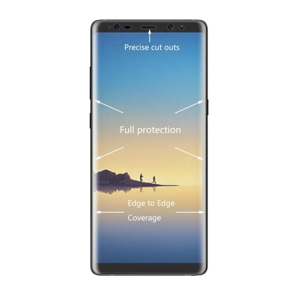 Heldekkende Curved Skjermbeskytter Samsung Galaxy Note 8