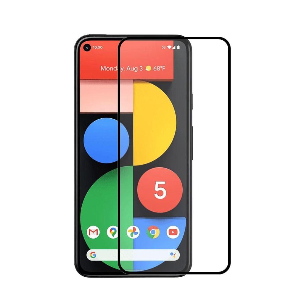 Full Glue Herdet Glass Google Pixel 5 Black