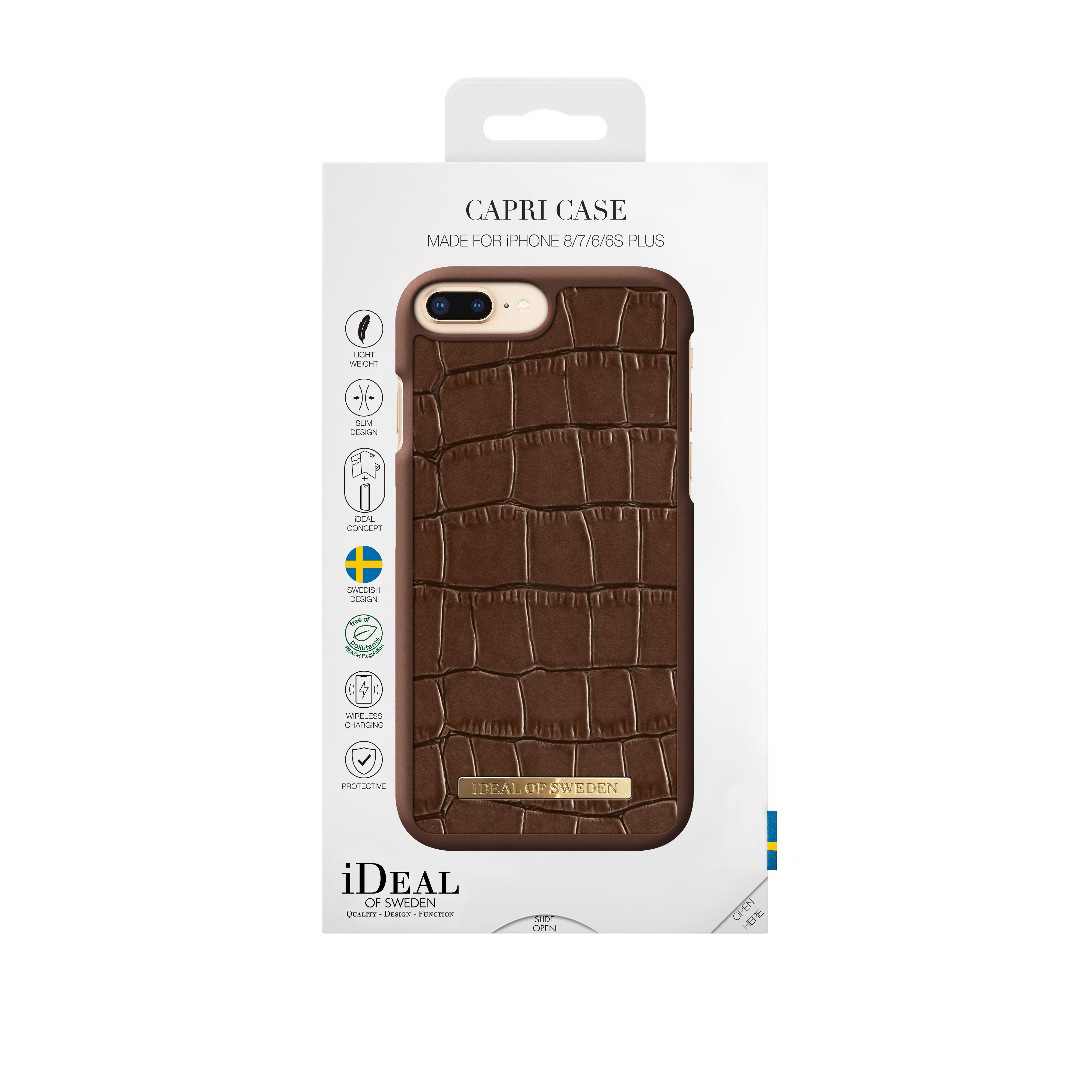 Capri Case iPhone 6/6S/7/8 Plus Brown