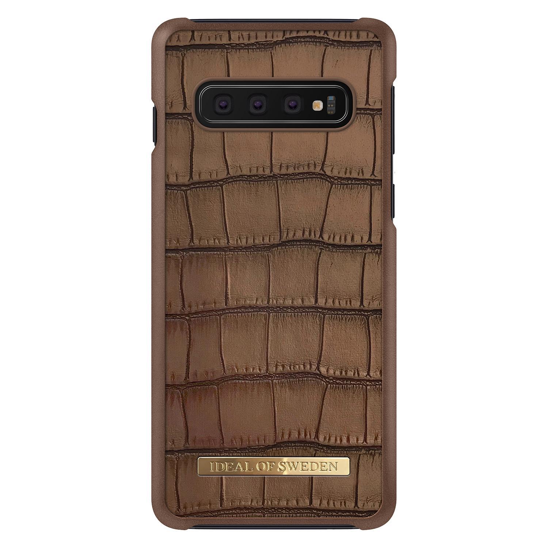 Capri Case Galaxy S10 Brown