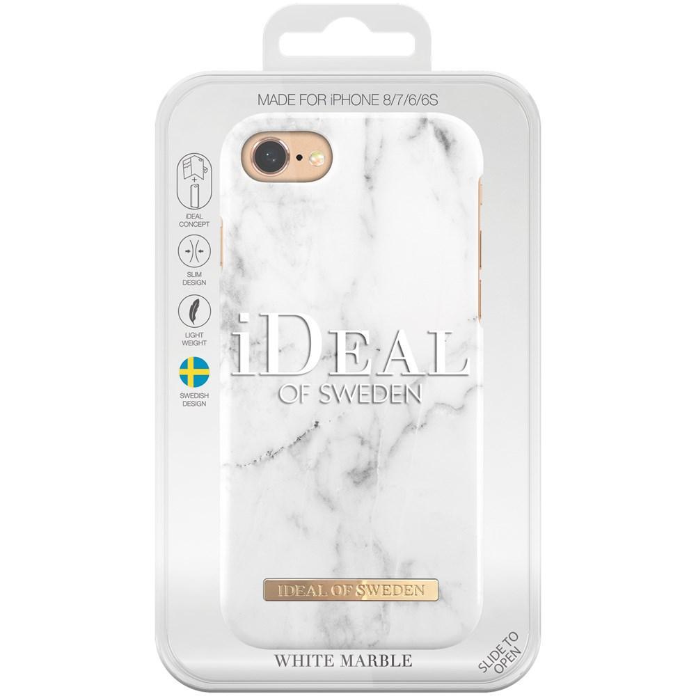 Fashion Case iPhone 6/6S/7/8/SE 2020 White Marble