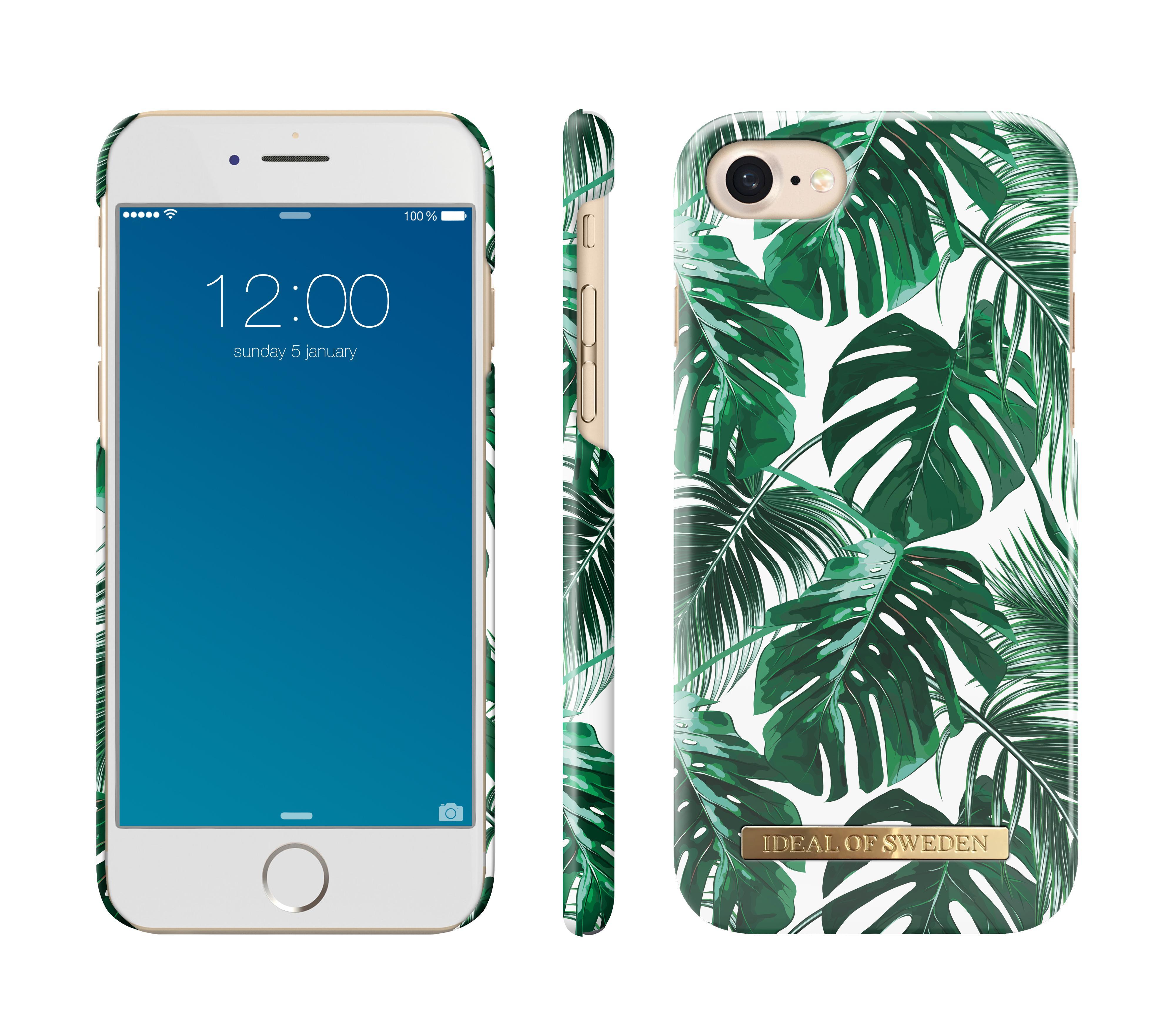 Fashion Case iPhone 6/6S/7/8/SE 2020 Monstera Jungle