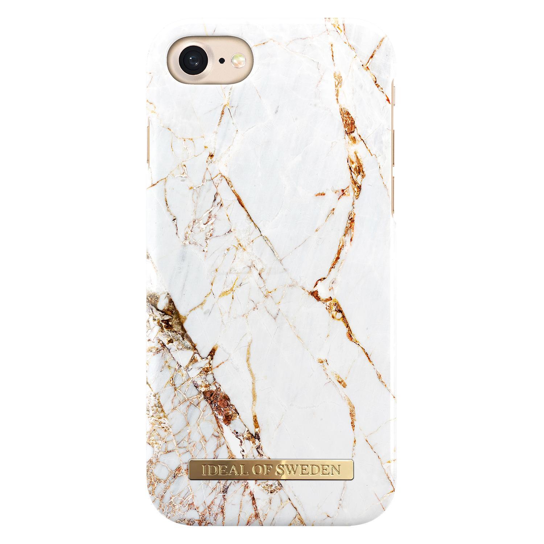 Fashion Case iPhone 6/6S/7/8/SE 2020 Carrara Gold Marble