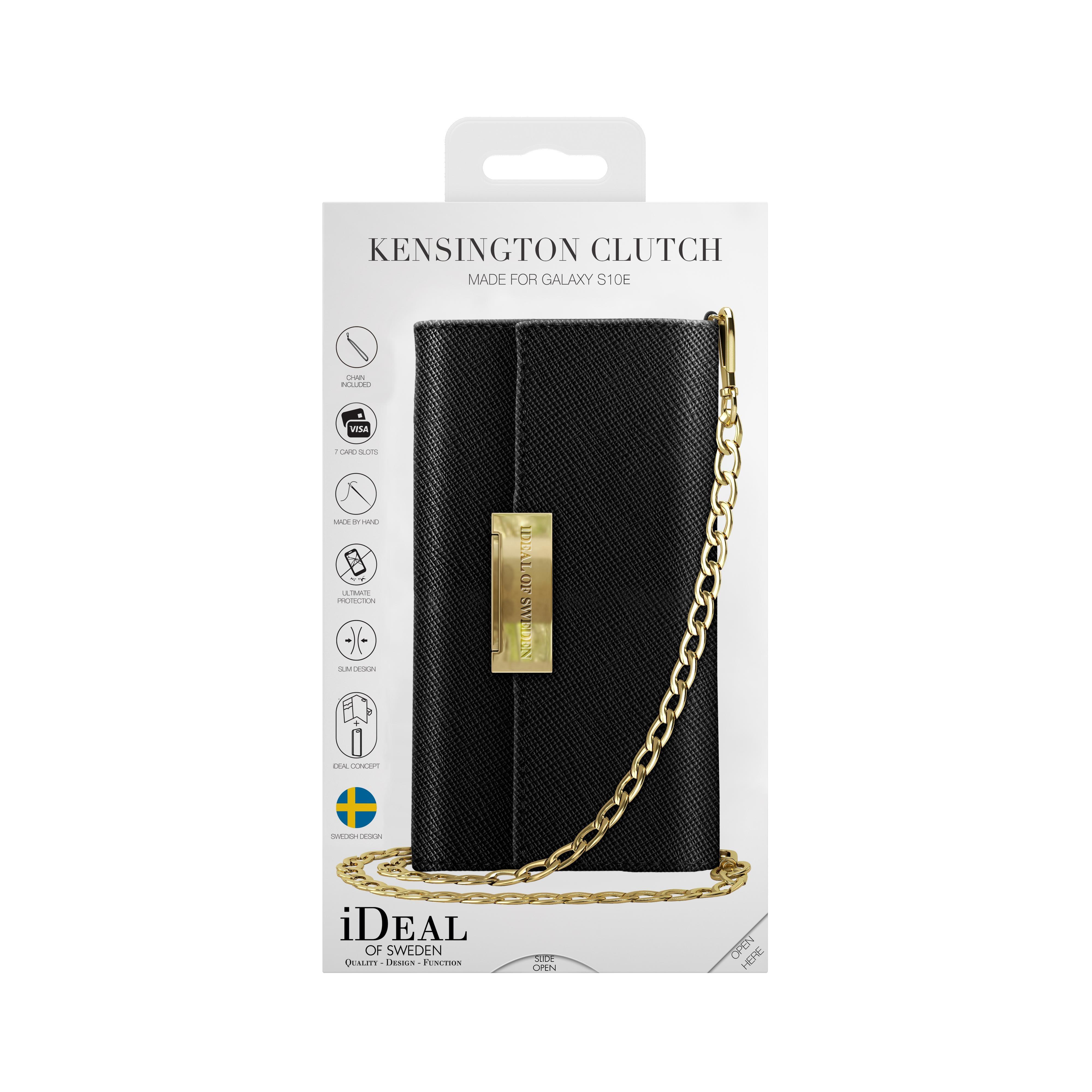 Kensington Clutch Galaxy S10e Black