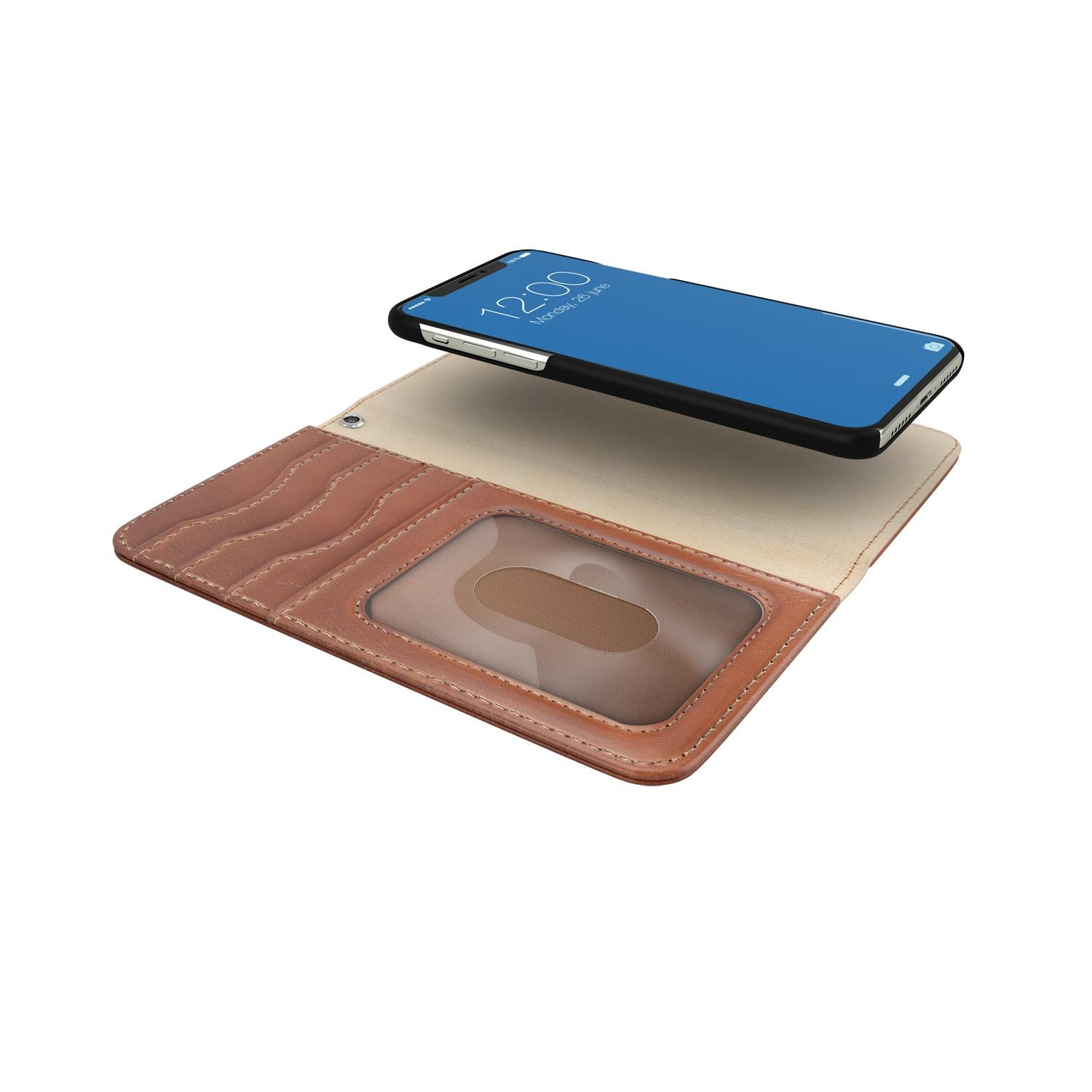 Magnet Wallet+ iPhone 11 Pro/XS/X Brown