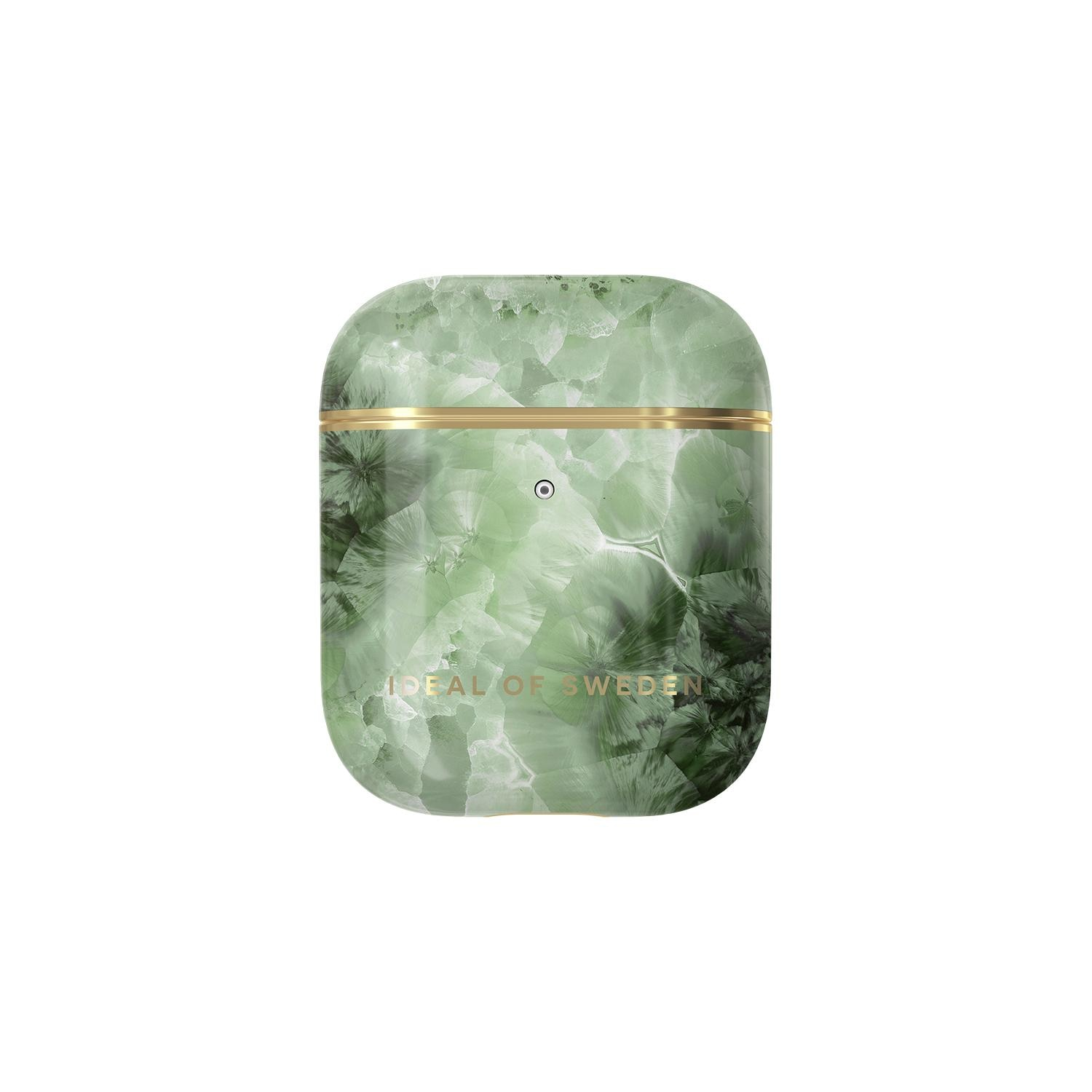 Fashion Case Apple AirPods Crystal Green Sky