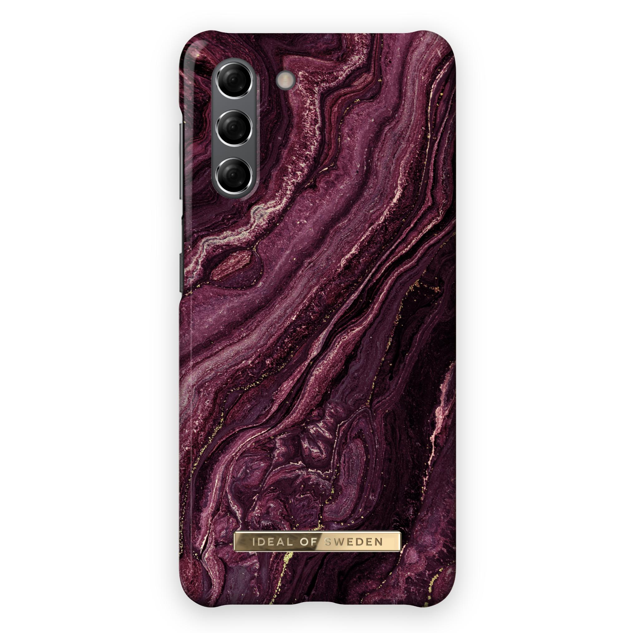 Fashion Case Galaxy S21 Plus Golden Plum