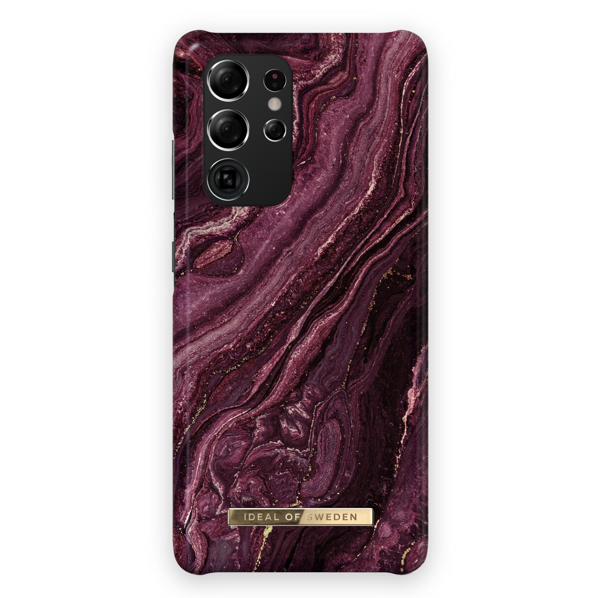 Fashion Case Galaxy S21 Ultra Golden Plum