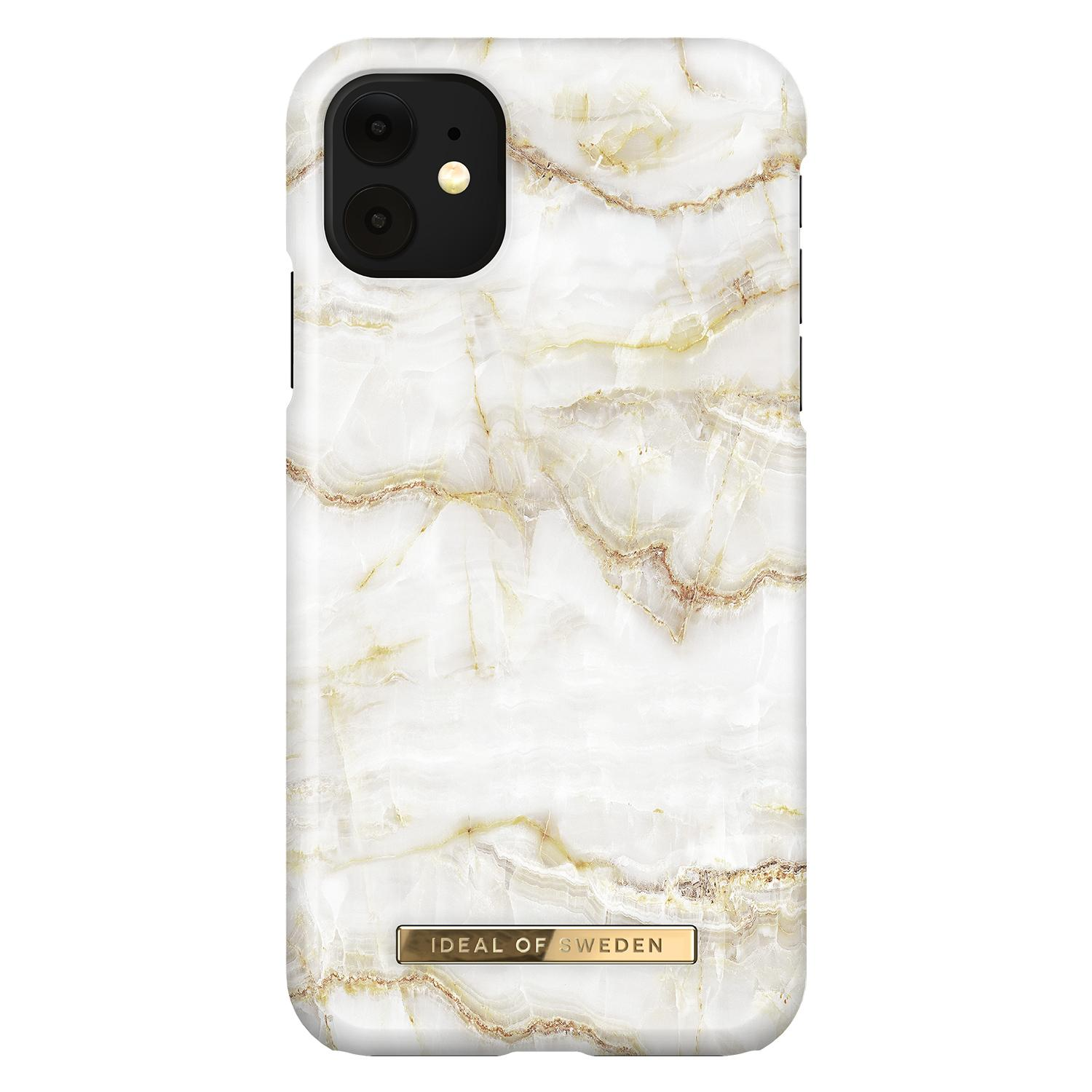 Fashion Case iPhone 11 Golden Pearl Marble