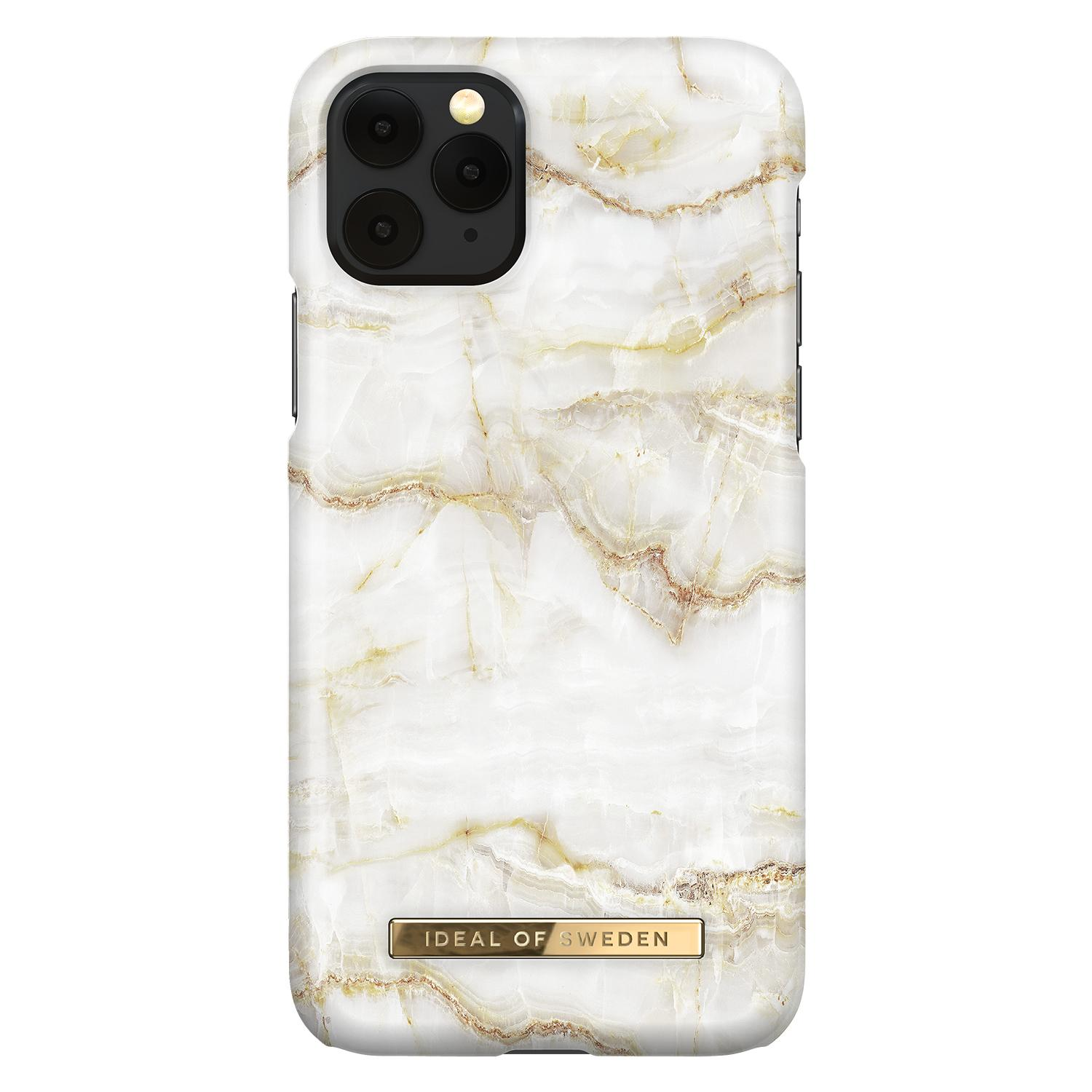 Fashion Case iPhone 11 Pro Golden Pearl Marble
