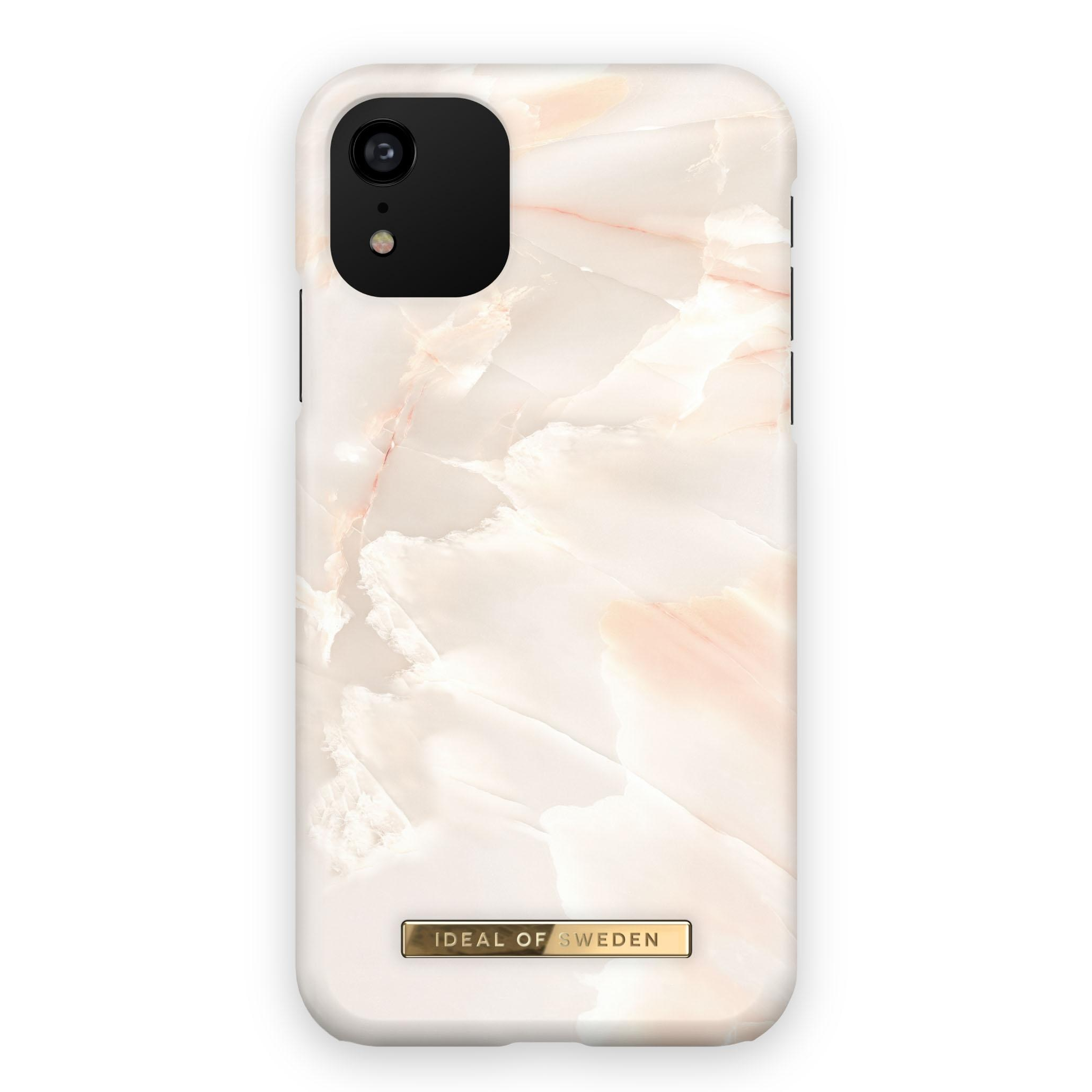 Fashion Case iPhone 11/XR Rose Pearl Marble