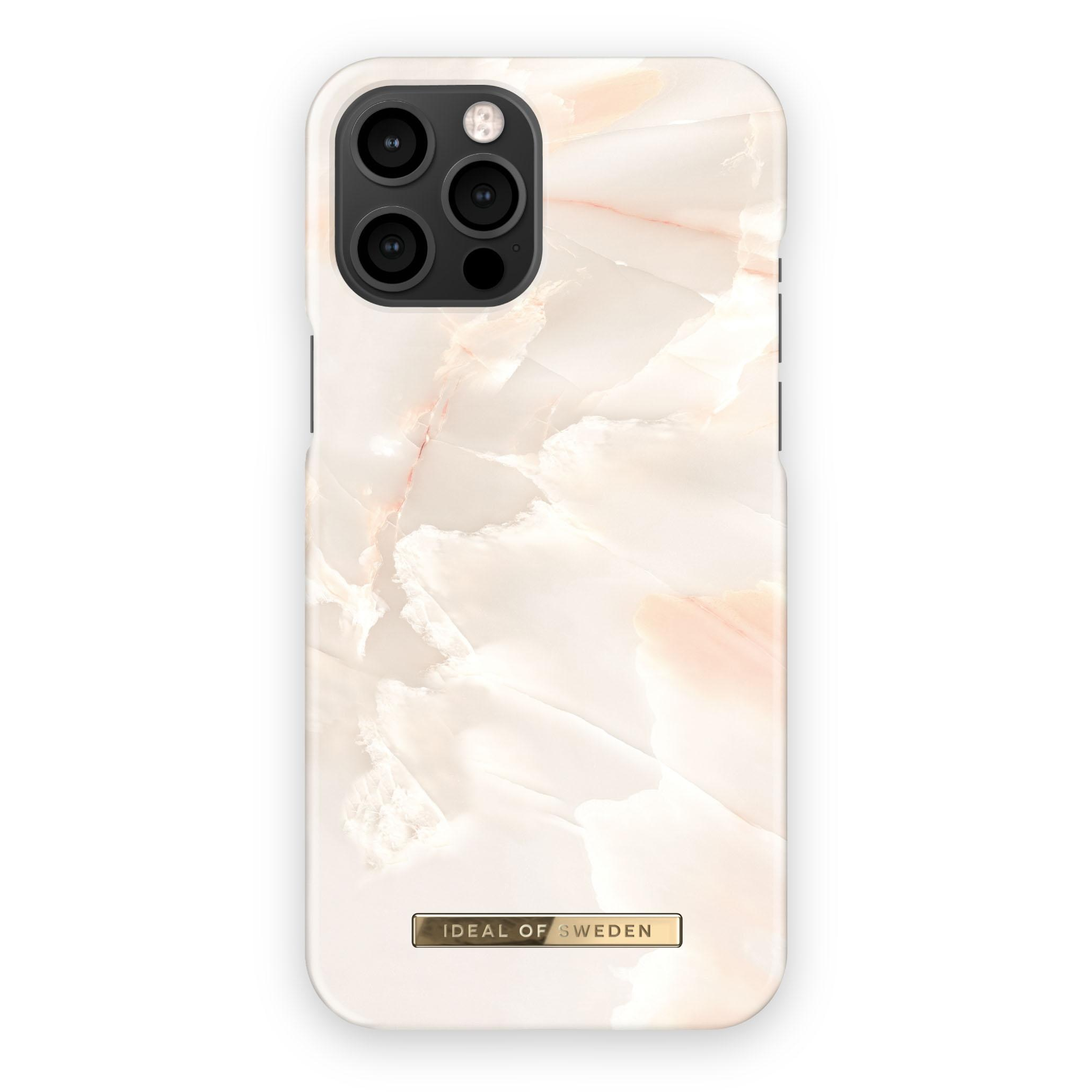 Fashion Case iPhone 12 Pro Max Rose Pearl Marble