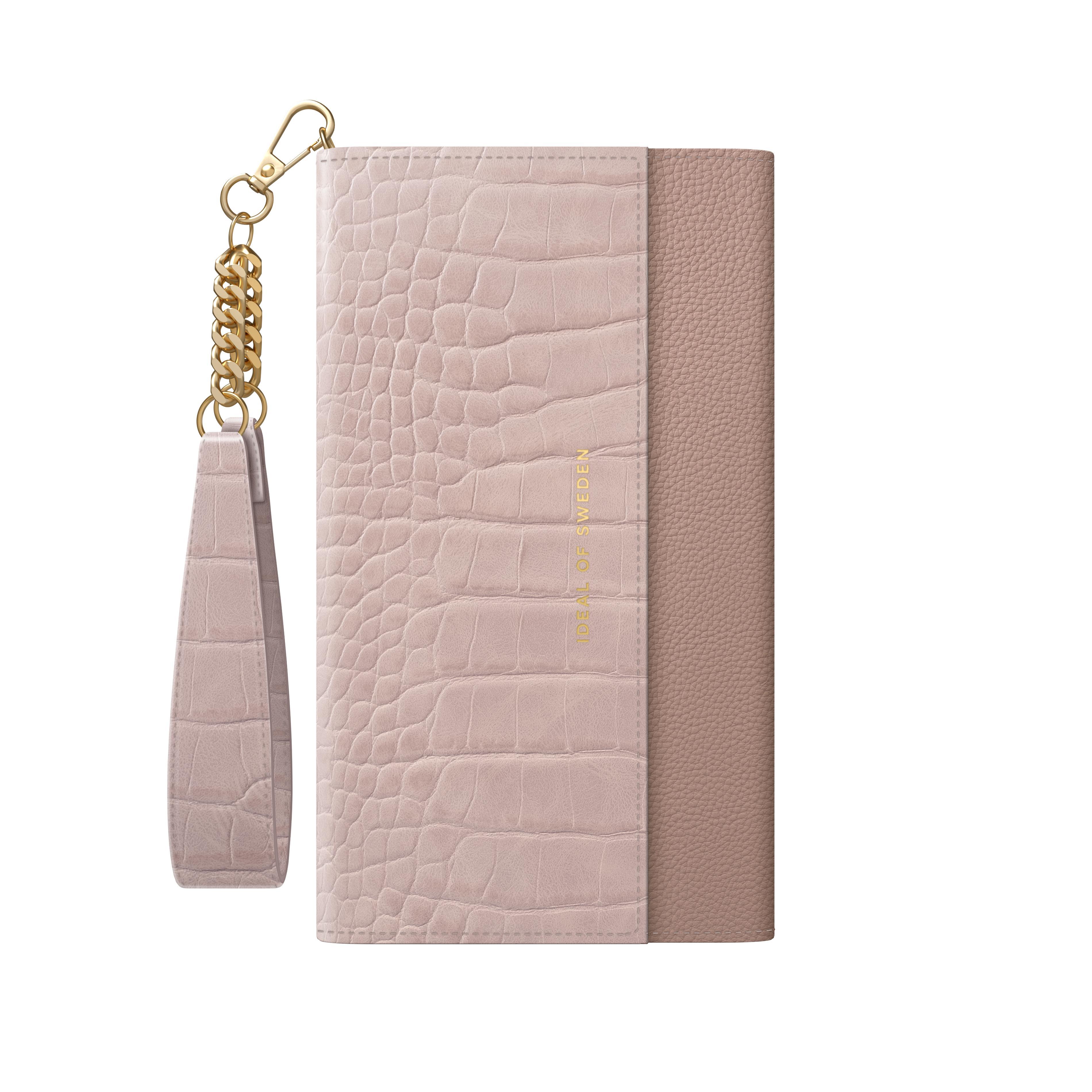 Signature Clutch iPhone 12/12 Pro Misty Rose Croco