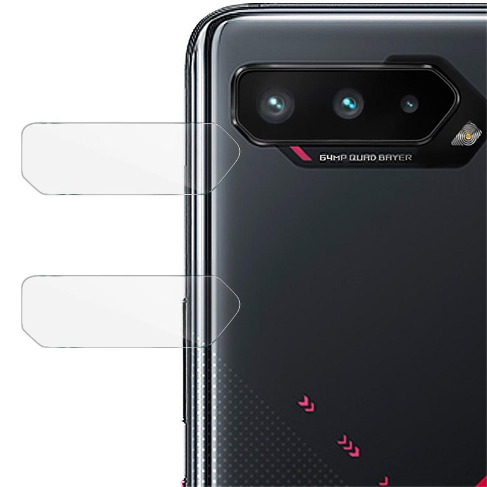 2-pack Herdet Glass Linsebeskyttelse Asus ROG Phone 5
