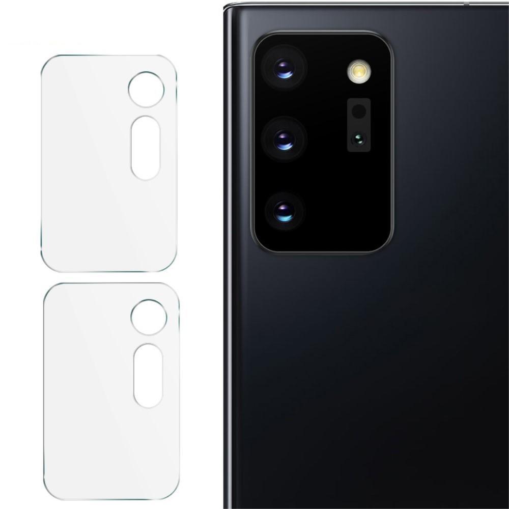 2-pack Herdet Glass Linsebeskyttelse Galaxy Note 20 Ultra