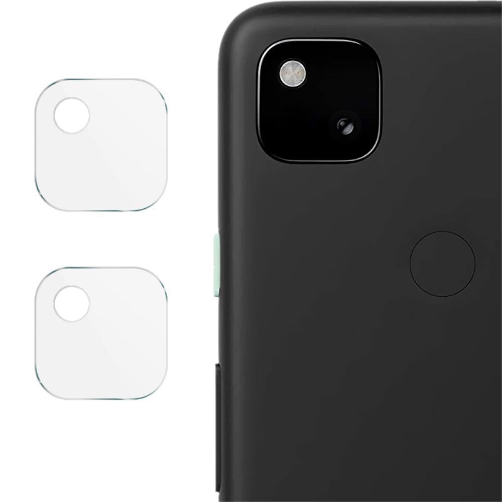 2-pack Herdet Glass Linsebeskyttelse Google Pixel 4a