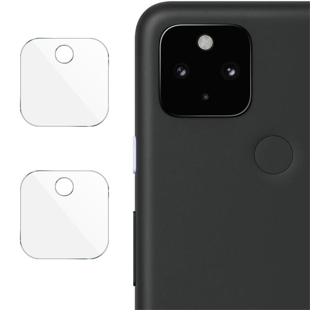 2-pack Herdet Glass Linsebeskyttelse Google Pixel 5