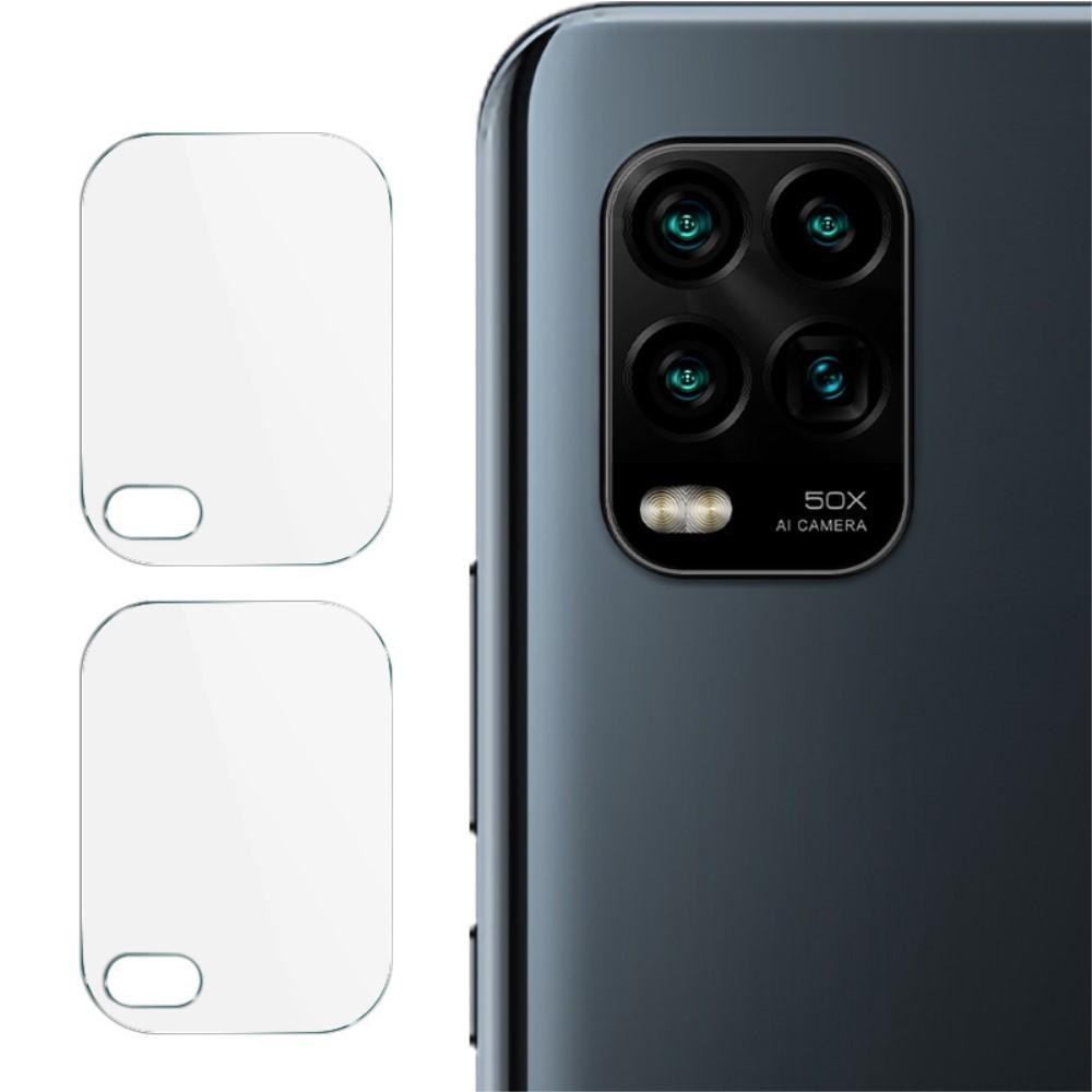 2-pack Herdet Glass Linsebeskyttelse Xiaomi Mi 10 Lite