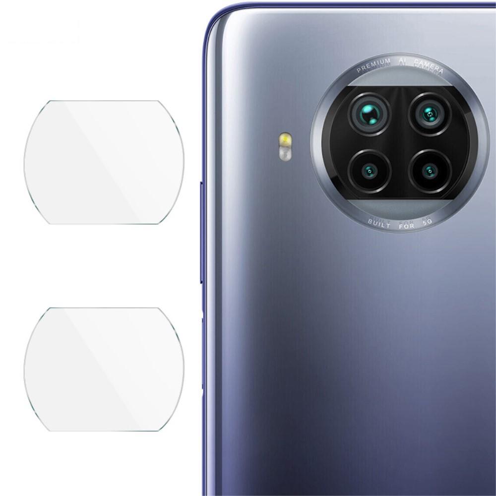 2-pack Herdet Glass Linsebeskyttelse Xiaomi Mi 10T Lite 5G