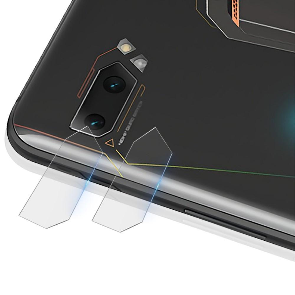 2-pack Herdet Glass Linsebeskyttelse Asus ROG Phone II