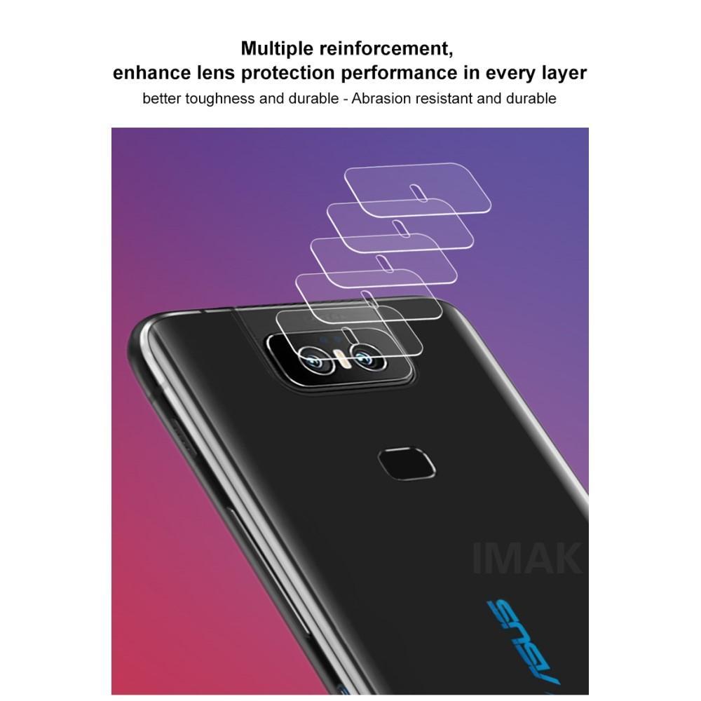 2-pack Herdet Glass Linsebeskyttelse Asus ZenFone 6
