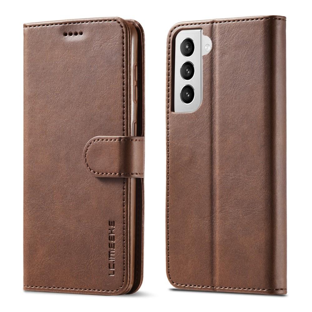 Lommeboketui Samsung Galaxy S21 brun
