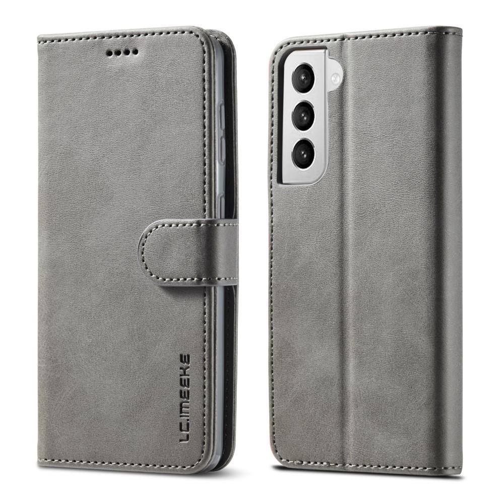 Lommeboketui Samsung Galaxy S21 grå