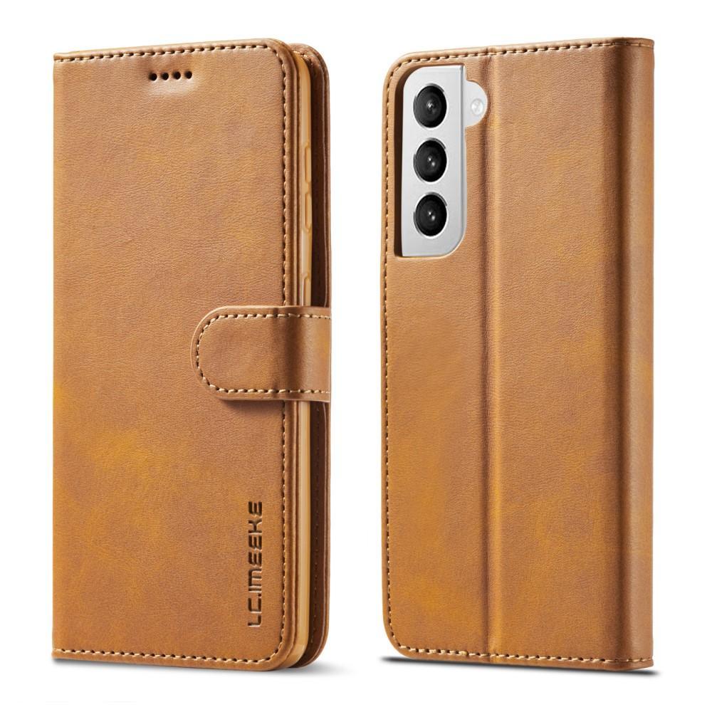 Lommeboketui Samsung Galaxy S21 Plus cognac