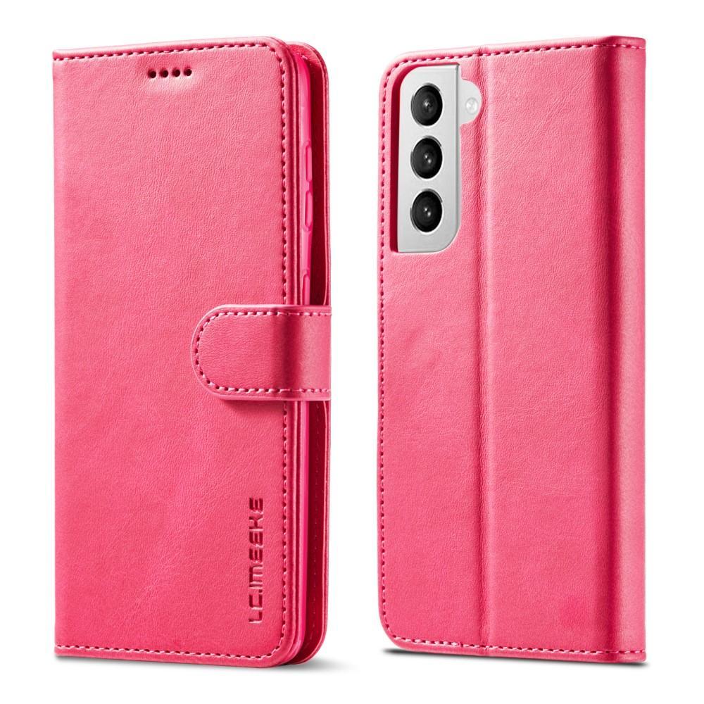 Lommeboketui Samsung Galaxy S21 rosa