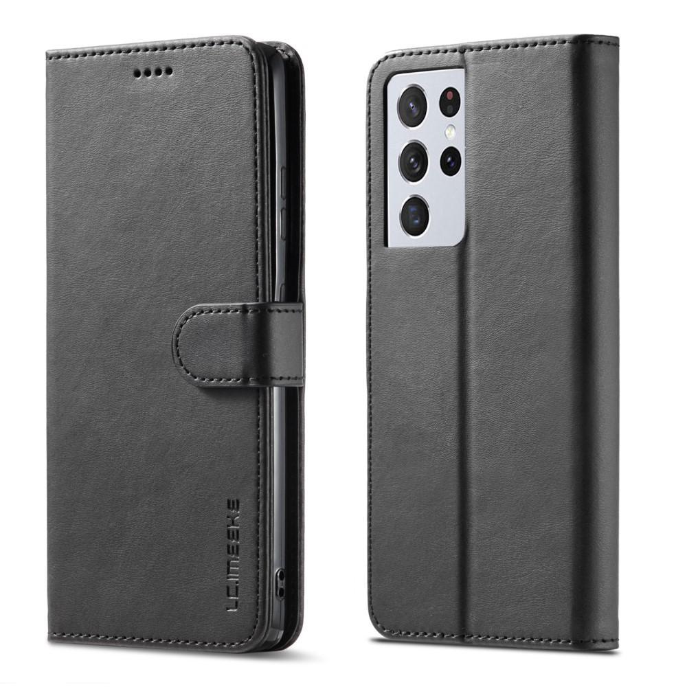 Lommeboketui Samsung Galaxy S21 Ultra svart