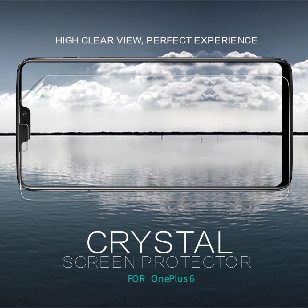 Crystal Clear Skjermbeskytter OnePlus 6