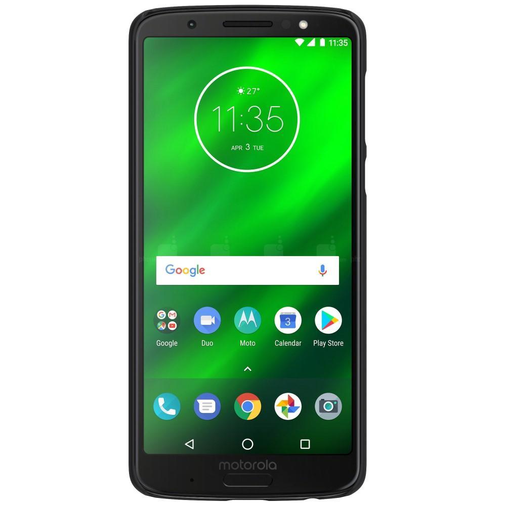 Super Frosted Shield Motorola Moto G6 Plus svart