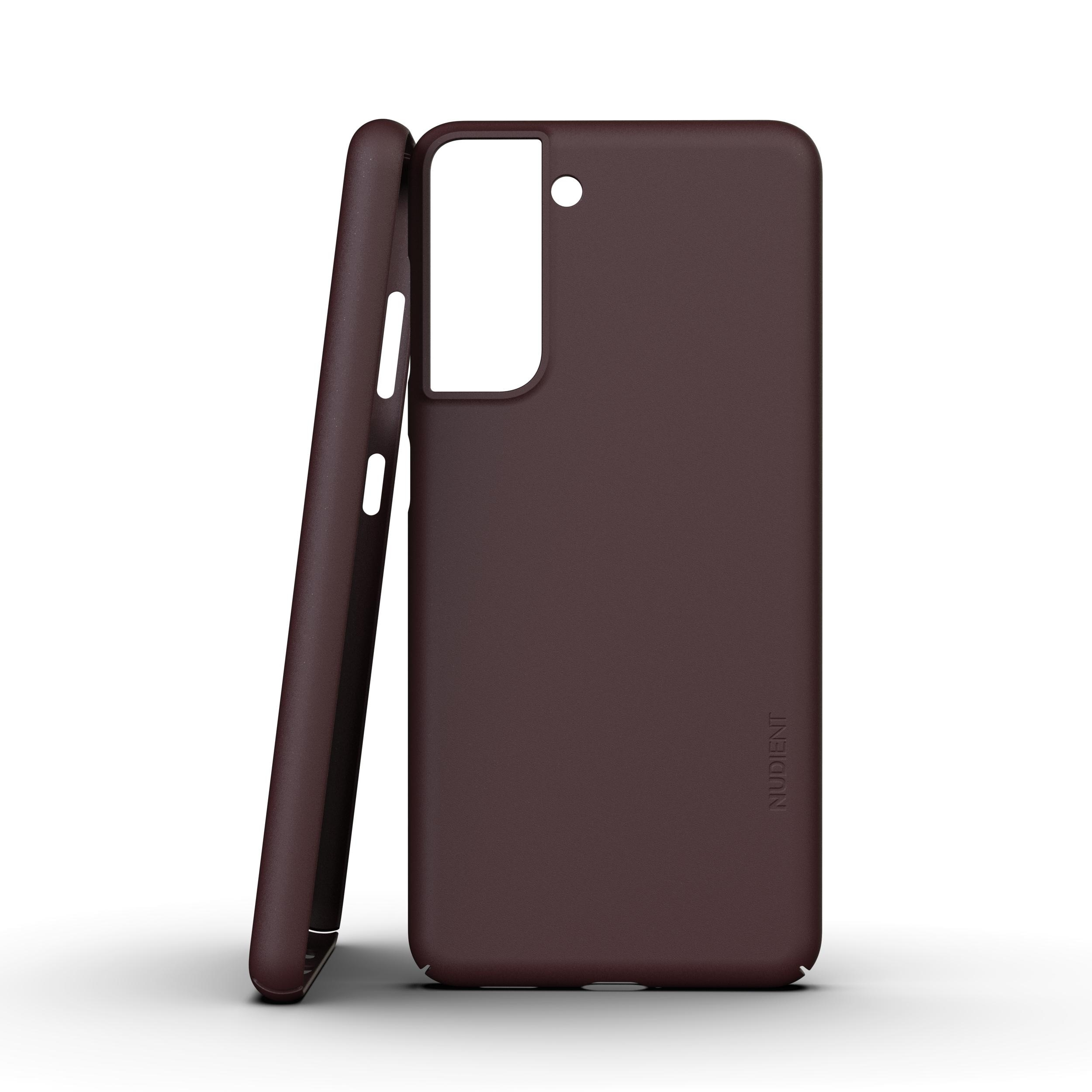 Thin Case V3 Galaxy S21 Sangria Red
