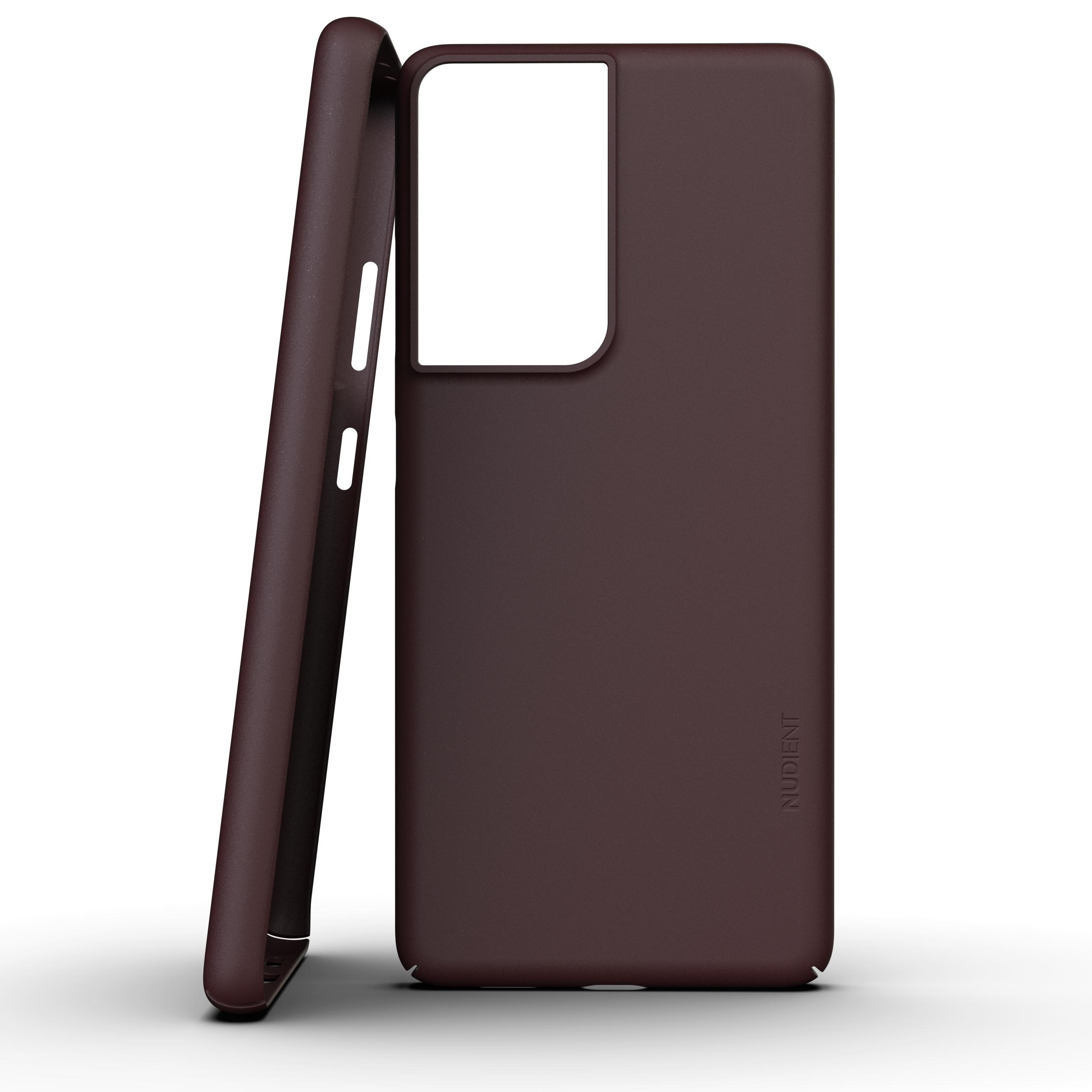 Thin Case V3 Galaxy S21 Ultra Sangria Red