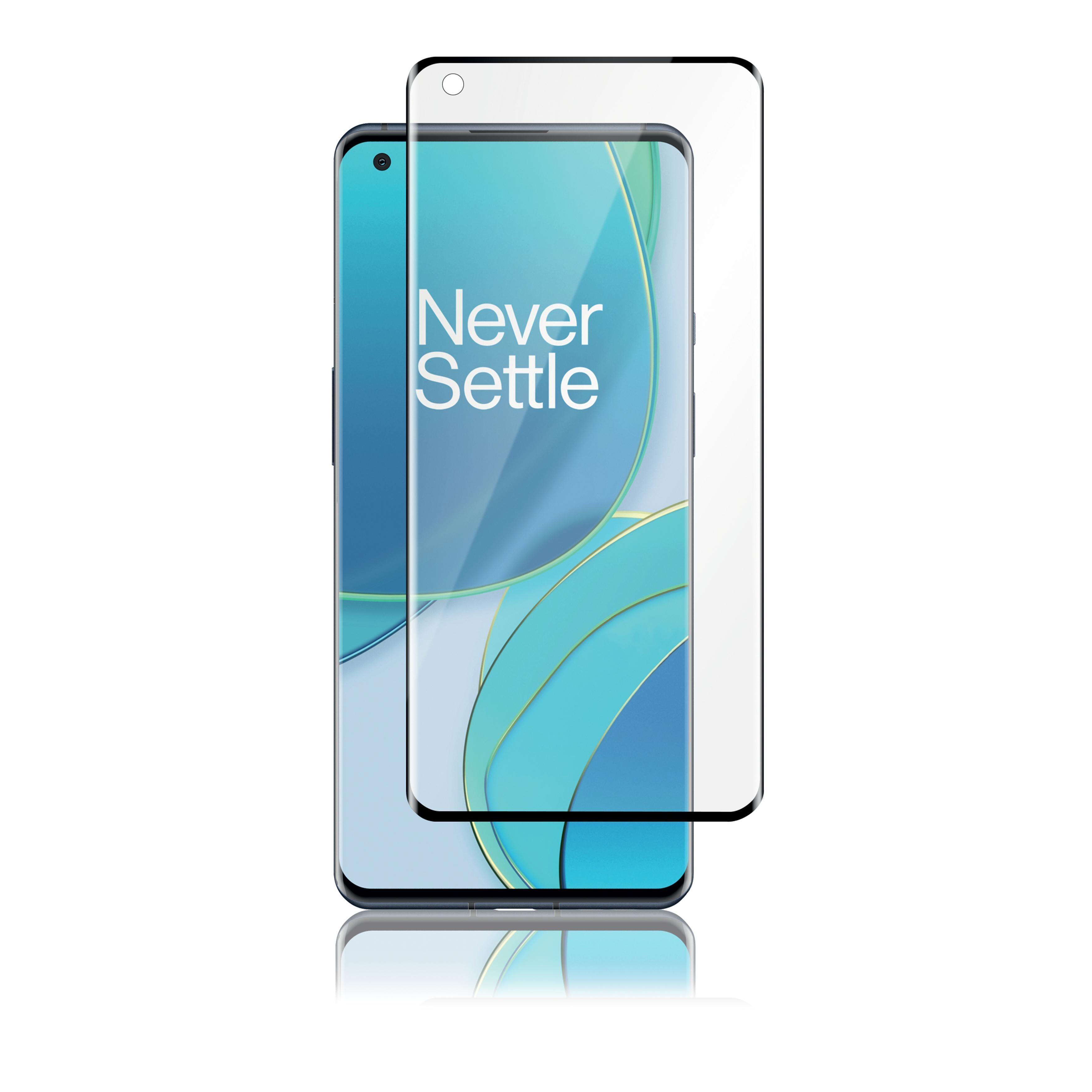 Curved Glass Samsung OnePlus 9 Pro Black
